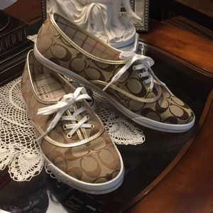 COACH Audrina Sneakers Size 9B